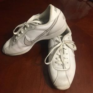 Nike White Cheerleading Sneakers